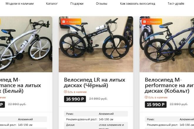 Скопирую Landing page 1 - kwork.ru