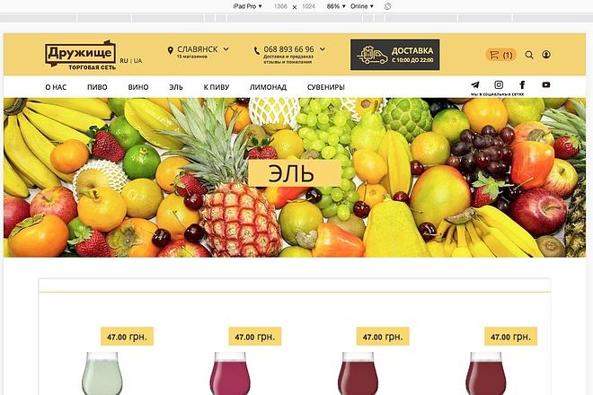 Создание интернет-магазина на CMS Opencart 6 - kwork.ru