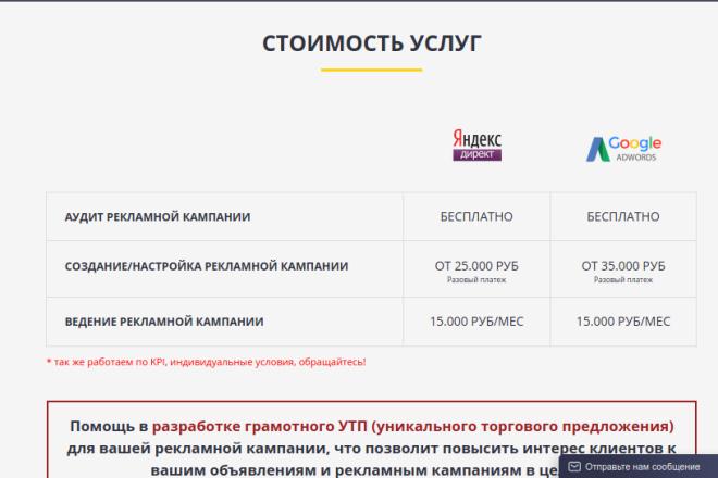 Скопирую страницу любой landing page с установкой панели управления 79 - kwork.ru
