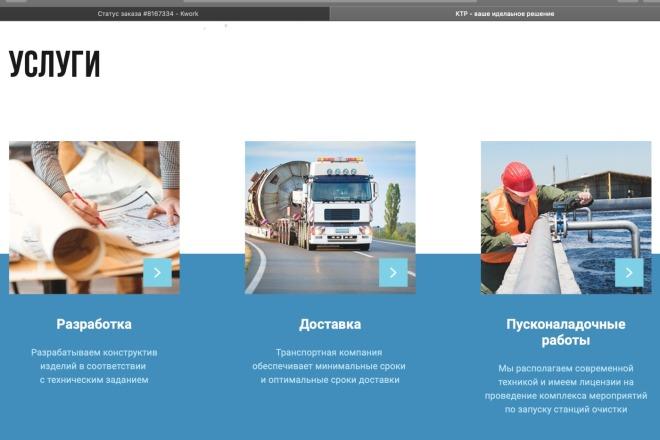 Вёрстка сайтов по доступной цене 64 - kwork.ru