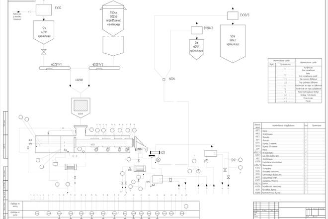 Чертежи в AutoCAD, оцифровка чертежей, исполнительная документация 4 - kwork.ru