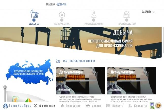 Верстка страницы html + css из макета PSD или Figma 26 - kwork.ru