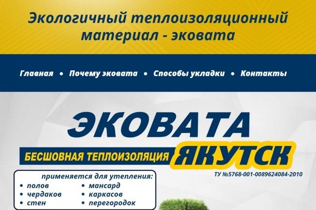 Верстка страницы html + css из макета PSD или Figma 20 - kwork.ru