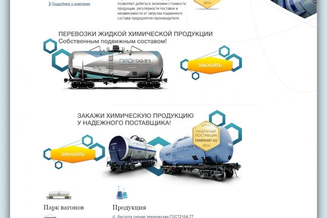 Верстка страницы html + css из макета PSD или Figma 40 - kwork.ru