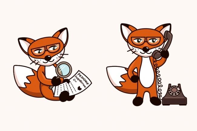 Нарисую мультяшных персонажей 17 - kwork.ru