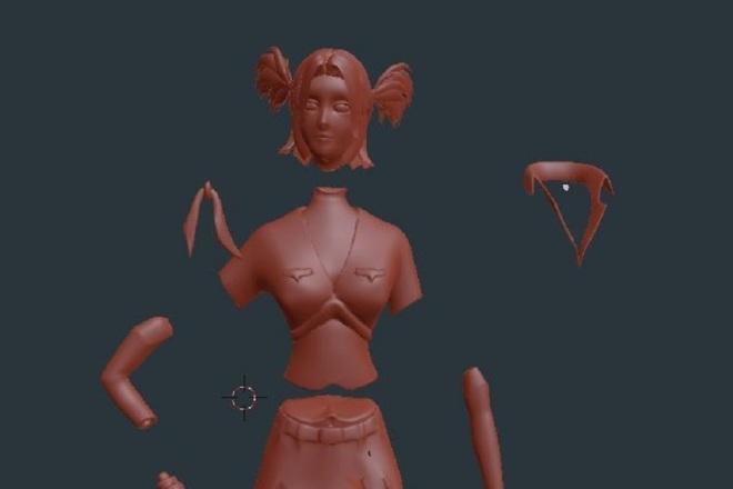 Blender l 3Д моделирование 9 - kwork.ru