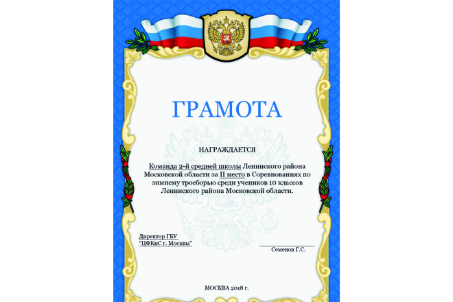 Дизайн Диплома, Сертификата, Благодарности, Грамоты 5 - kwork.ru
