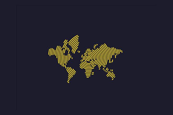Векторная отрисовка растровых логотипов, иконок 77 - kwork.ru