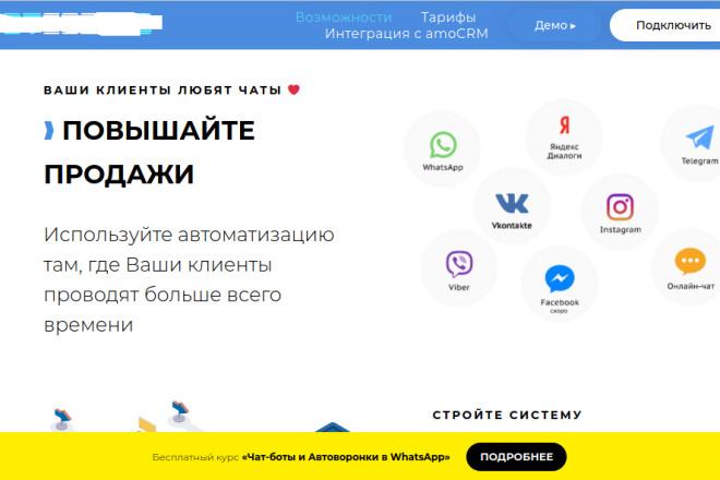 Скопирую страницу любой landing page с установкой панели управления 98 - kwork.ru