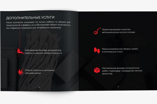 Разработаю Маркетинг Кит, для личных встреч и рассылки 19 - kwork.ru
