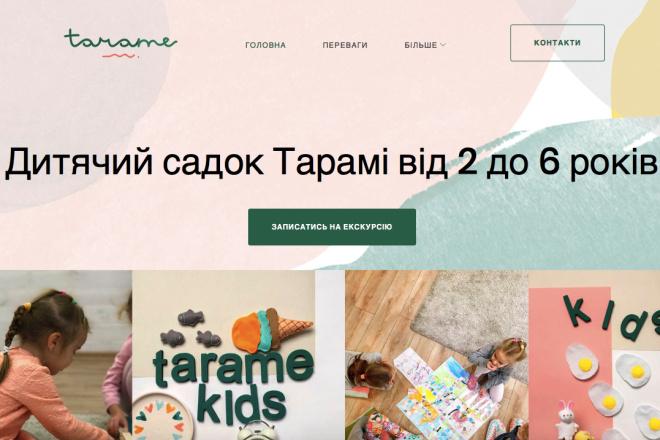 Лендинг на WordPress, установка шаблона, настройка 2 - kwork.ru
