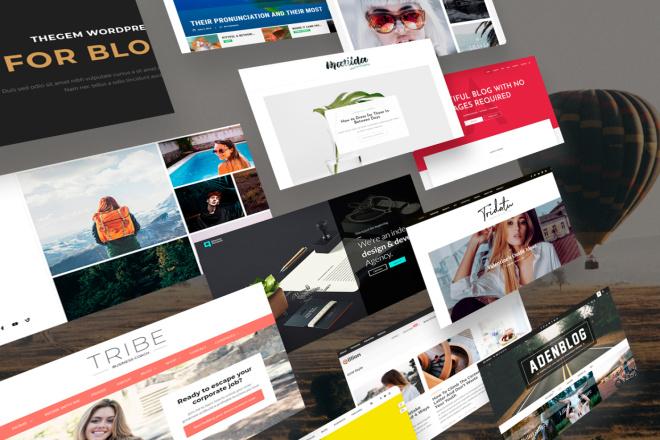 Новые премиум шаблоны Wordpress 3 - kwork.ru