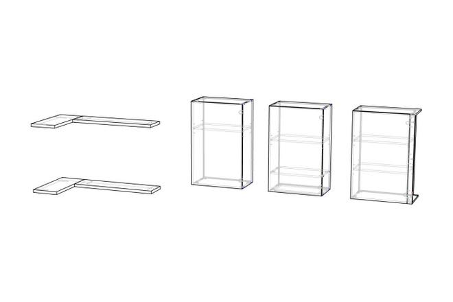 Проект корпусной мебели, кухни. Визуализация мебели 31 - kwork.ru