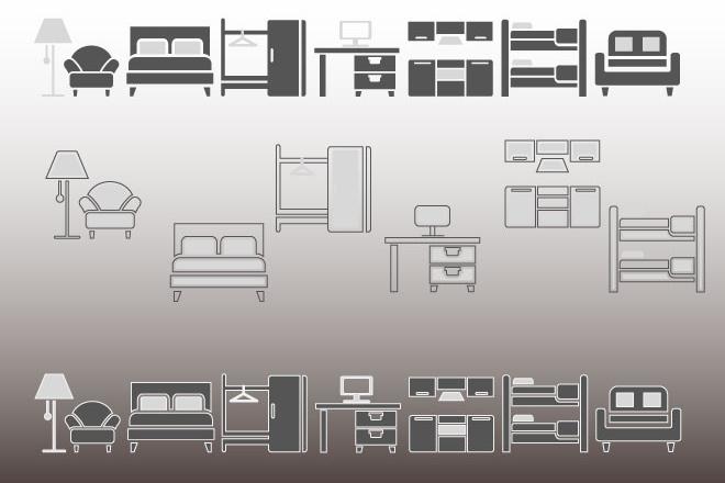 Нарисую иконки для сайта 17 - kwork.ru