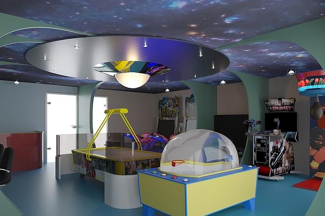Сделаю 3D визуализацию интерьера 29 - kwork.ru