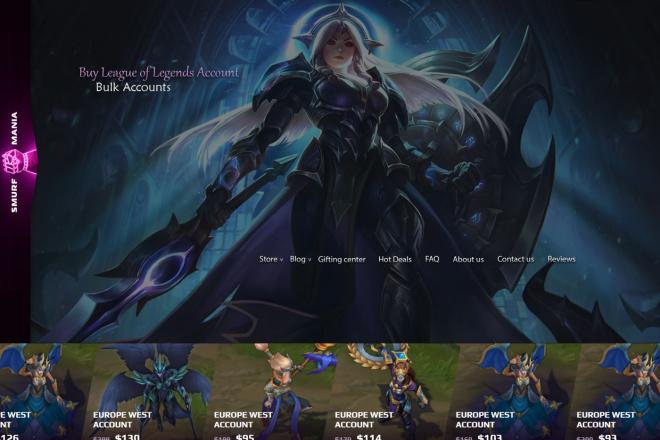 Дизайн страницы сайта в PSD 17 - kwork.ru