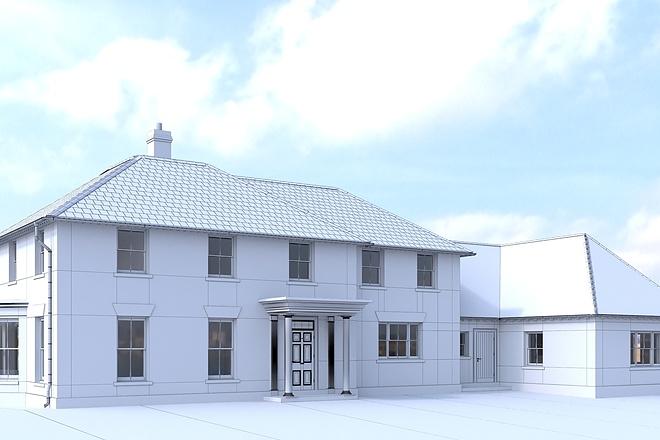 Архитектурное 3d моделирование 21 - kwork.ru
