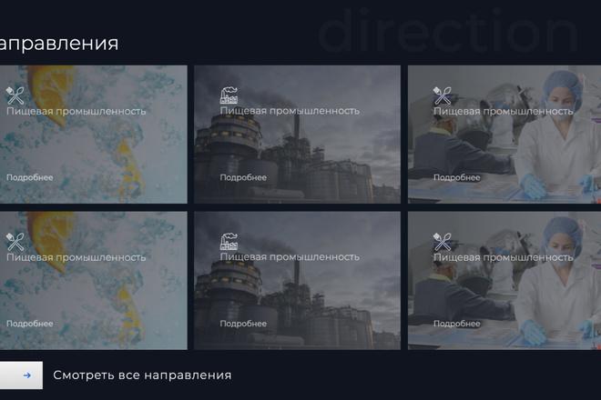 Сверстаю сайт по любому макету 123 - kwork.ru