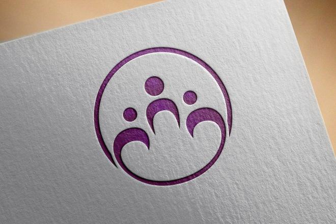 Сделаю логотип в круглой форме 65 - kwork.ru
