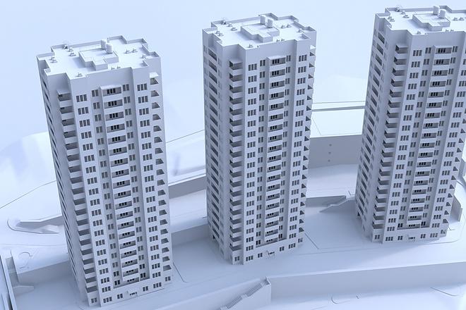 Архитектурное 3d моделирование 14 - kwork.ru