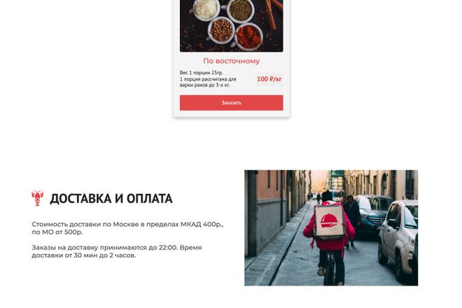 Сайт под ключ. Landing Page. Backend 55 - kwork.ru