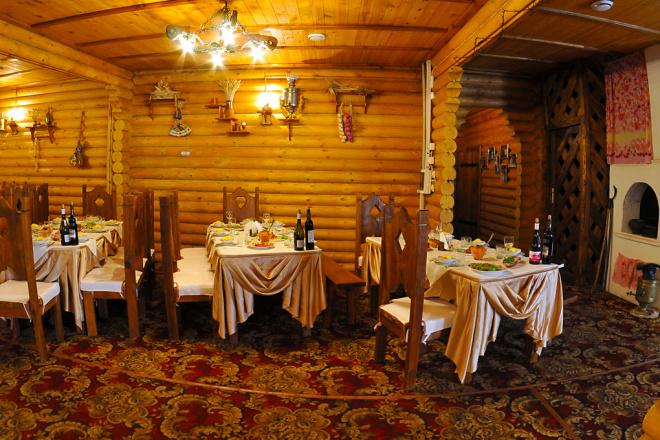 Создам визуализацию зала в старорусском стиле 1 - kwork.ru