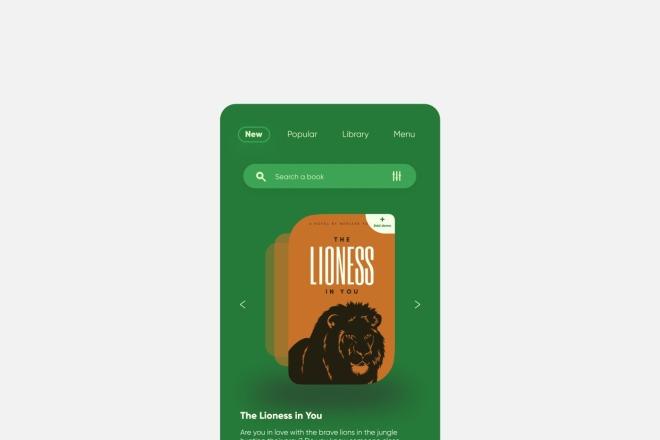 Разработка дизайна для вашего мобильного приложения 15 - kwork.ru