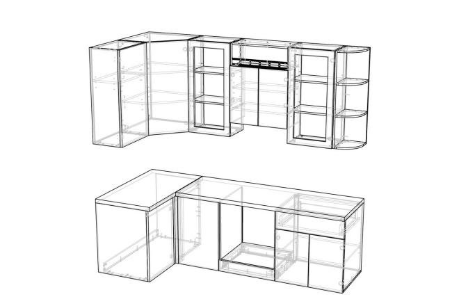 Конструкторская документация для изготовления мебели 132 - kwork.ru