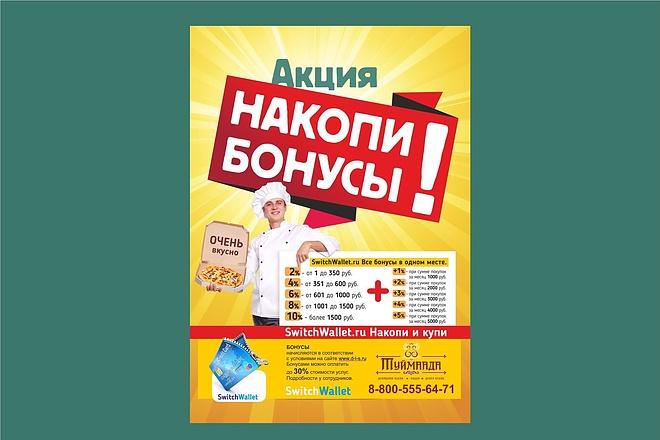 Постер, плакат, афиша 14 - kwork.ru
