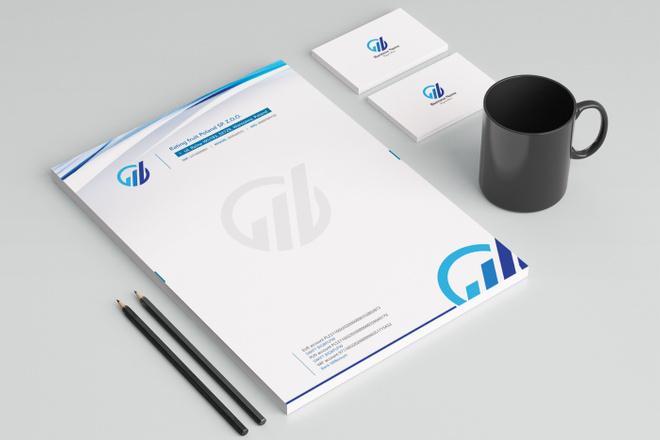 Создам фирменный стиль бланка 34 - kwork.ru