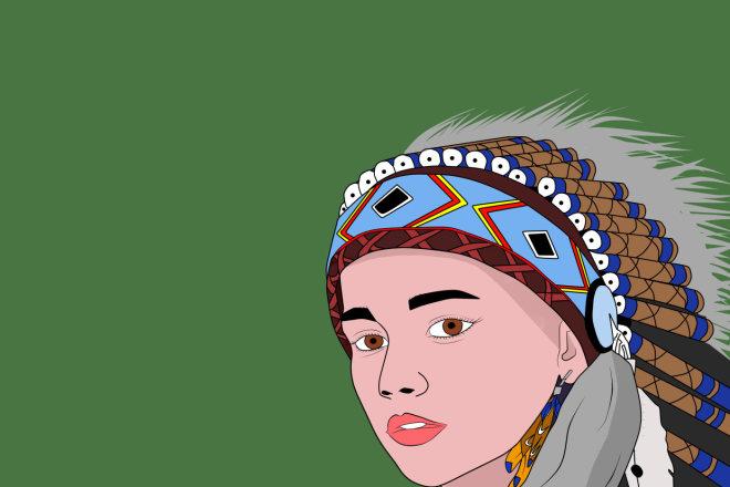 Создам и нарисую логотип в арт-стиле 1 - kwork.ru