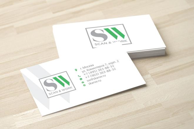 Дизайн визитки с исходниками 33 - kwork.ru