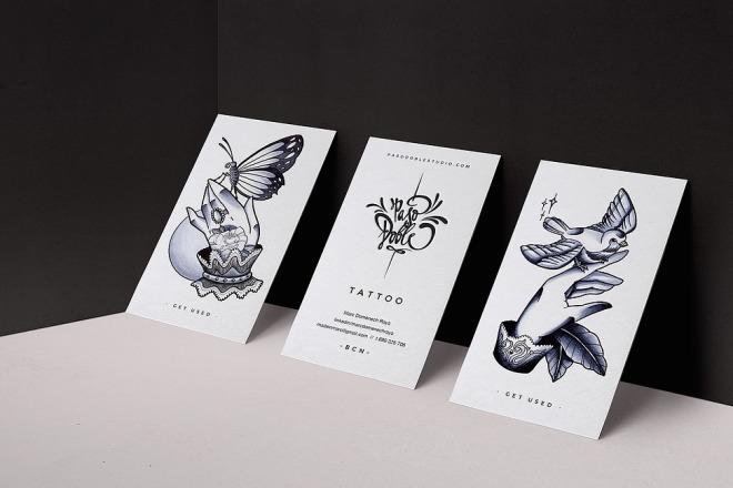Дизайн визитки 1 - kwork.ru