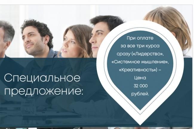 Исправлю дизайн презентации 66 - kwork.ru