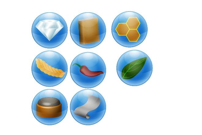 Нарисую 6 иконок в любом стиле 16 - kwork.ru
