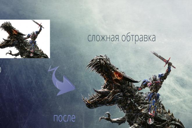 Удаление фона, обтравка, отделение фона 8 - kwork.ru