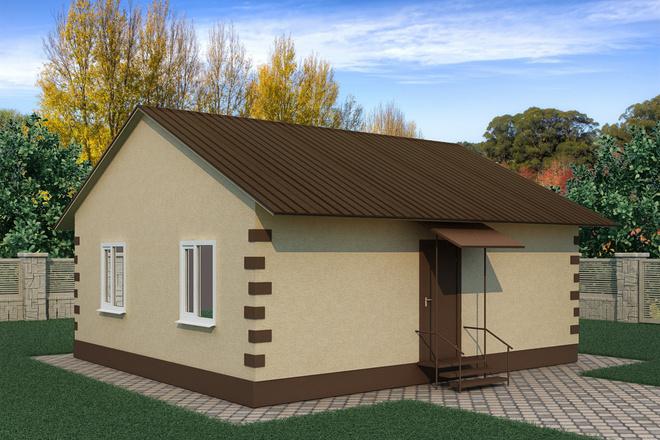 Визуализация домов 2 - kwork.ru