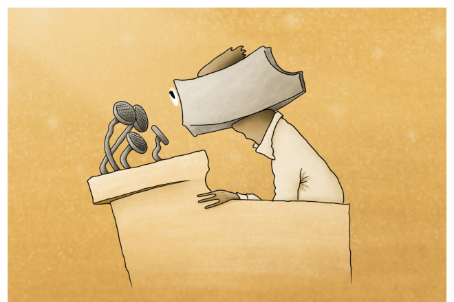 Нарисую карикатуру или ироническую иллюстрацию к тексту 10 - kwork.ru