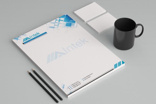 Создам фирменный стиль бланка 103 - kwork.ru