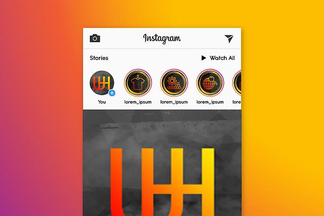 Оформление Instagram профиля 15 - kwork.ru
