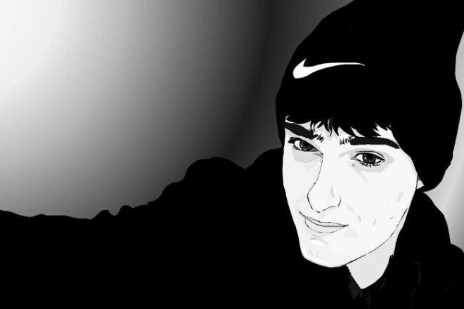 Нарисую портрет по фотографии 7 - kwork.ru