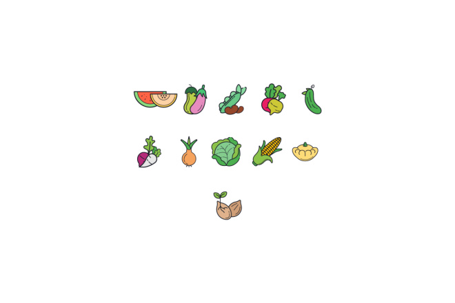 Создам 5 иконок в любом стиле, для лендинга, сайта или приложения 7 - kwork.ru