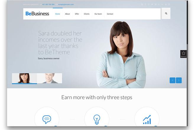 Новые премиум шаблоны Wordpress 39 - kwork.ru