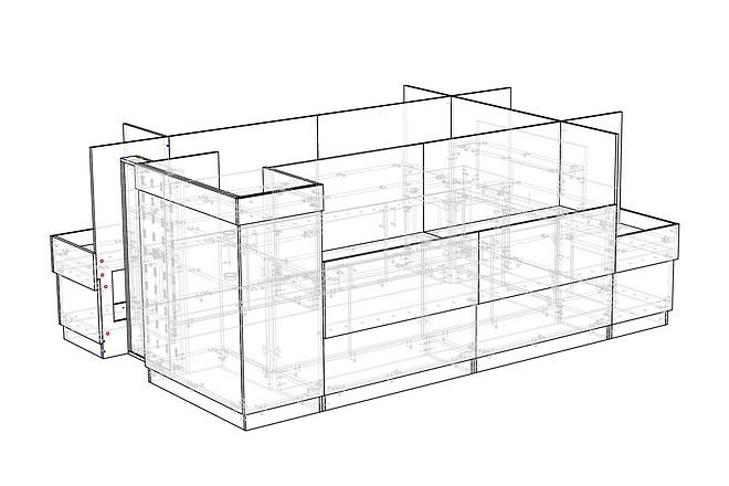 Конструкторская документация для изготовления мебели 109 - kwork.ru