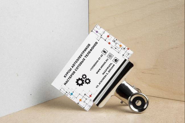 Создам индивидуальную визитку 24 - kwork.ru