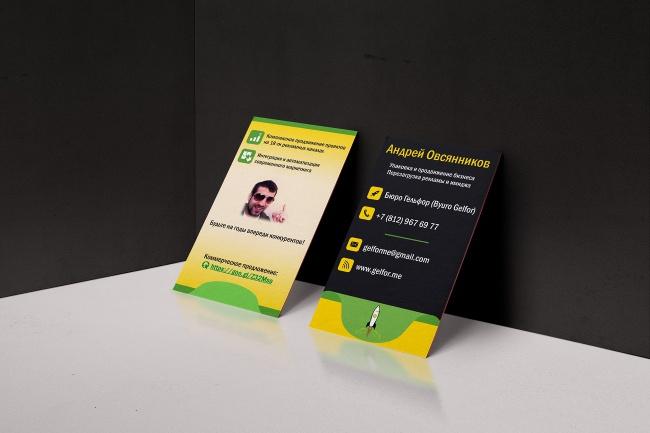 Создам индивидуальную визитку 43 - kwork.ru