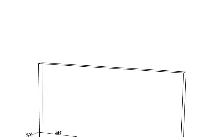 Конструкторская документация для изготовления мебели 60 - kwork.ru