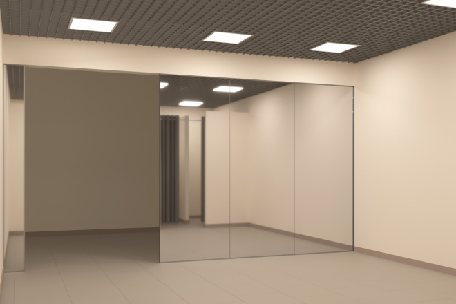 Создание 3д модели помещения по 2д чертежу 1 - kwork.ru