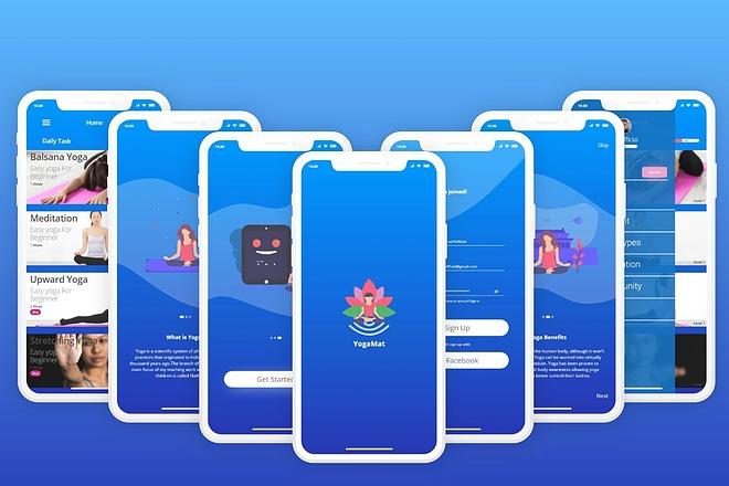 UI UX Дизайн экрана iOS или Android приложения 1 - kwork.ru