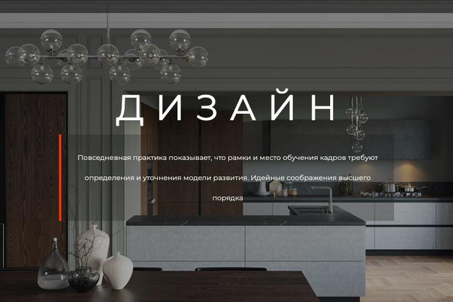 Сверстаю сайт по любому макету 202 - kwork.ru